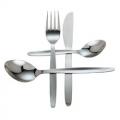 Plain Stainless Steel Cutlery