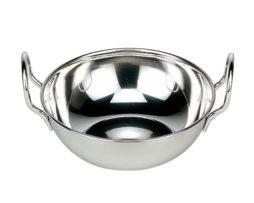 Stainless Steel Balti Dish